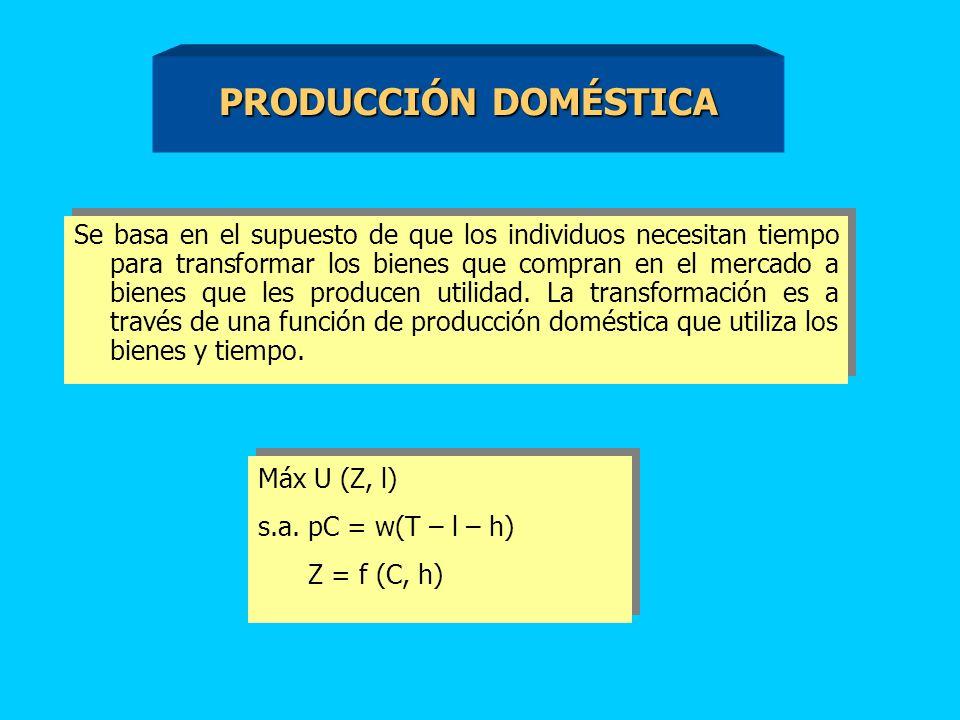 PRODUCCIÓN DOMÉSTICA
