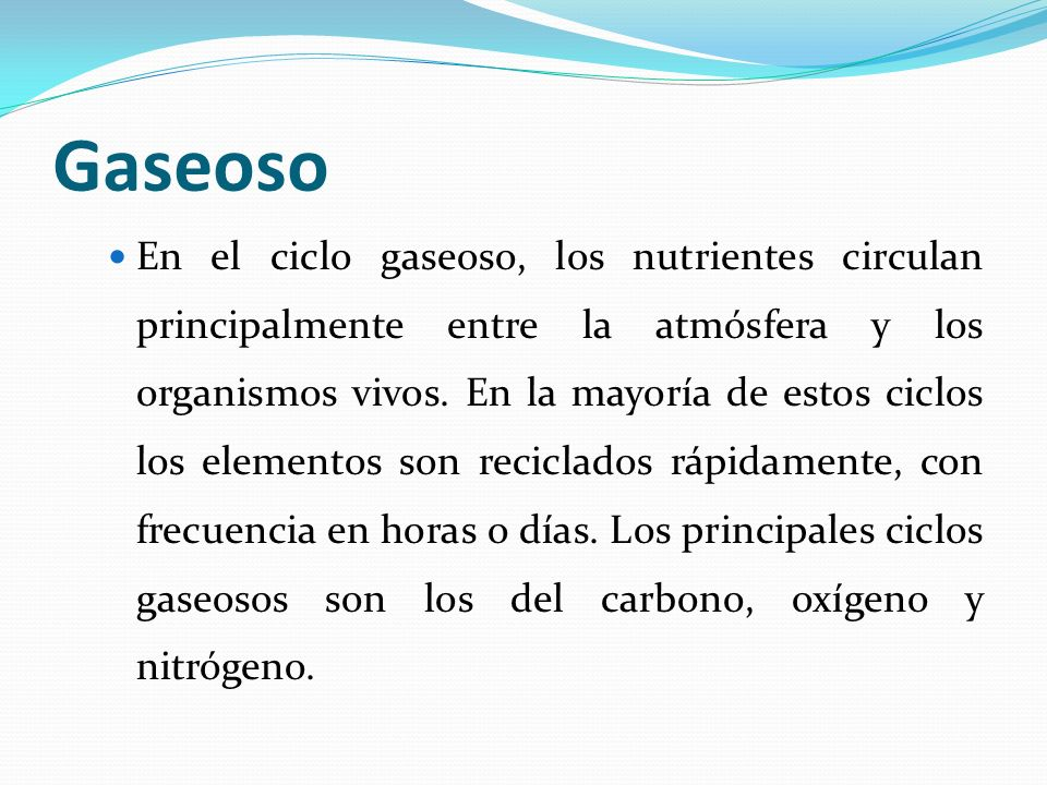 Gaseoso