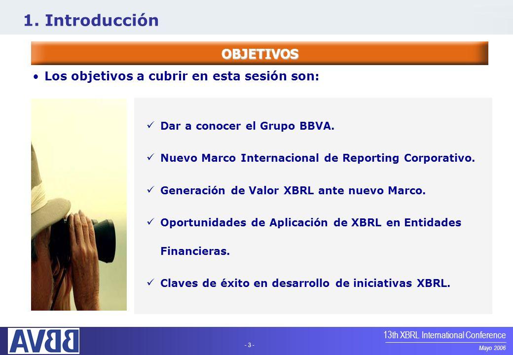 1. Introducción OBJETIVOS Los objetivos a cubrir en esta sesión son: