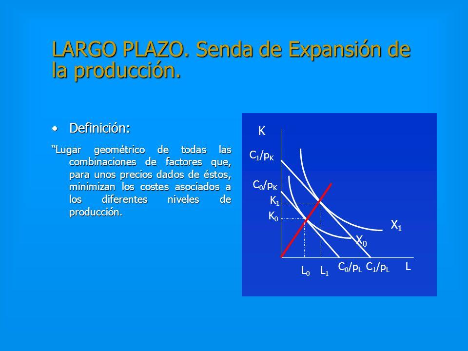 LARGO PLAZO. Senda de Expansión de la producción.