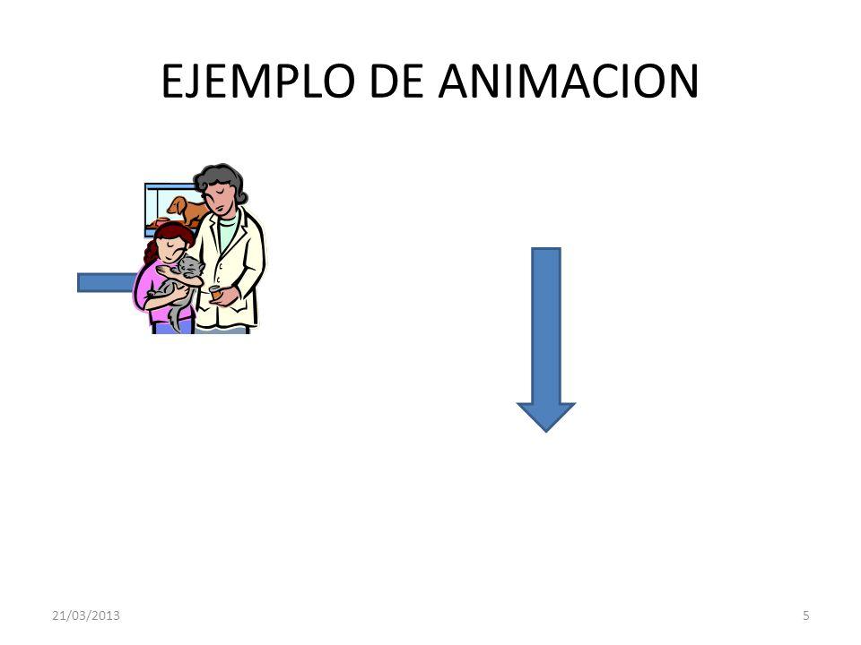 EJEMPLO DE ANIMACION 21/03/2013