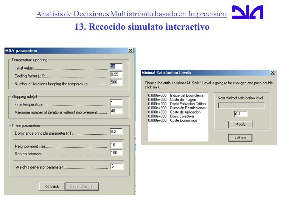 Análisis de Decisiones Multiatributo basado en Imprecisión
