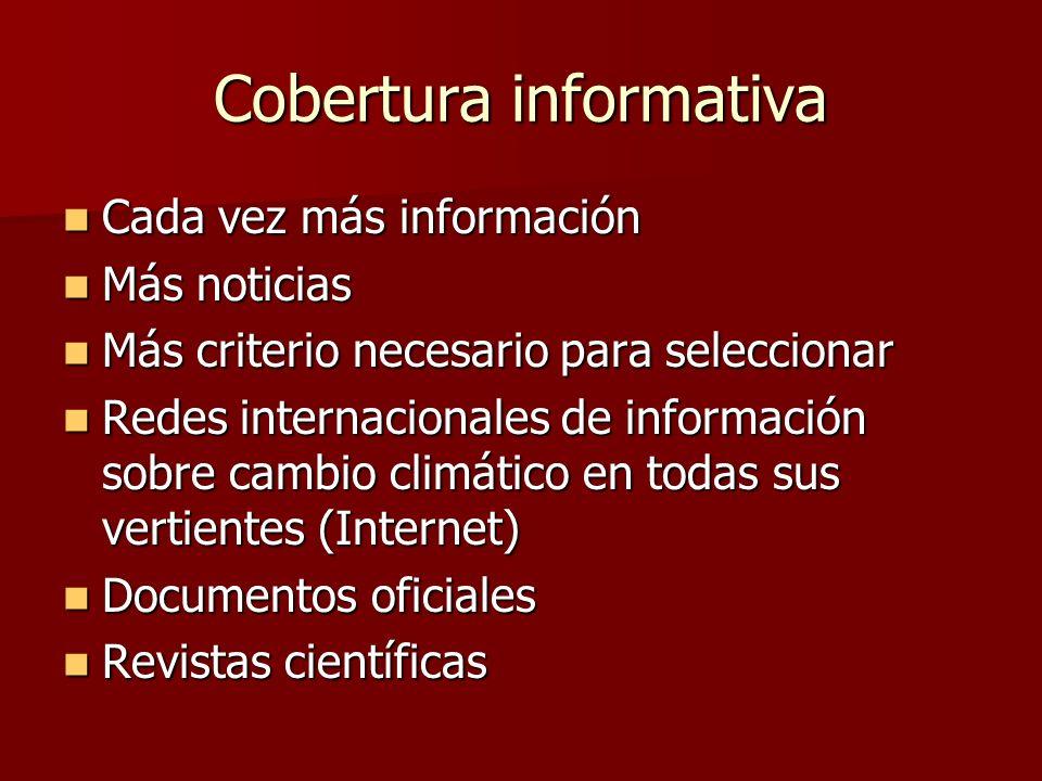 Cobertura informativa