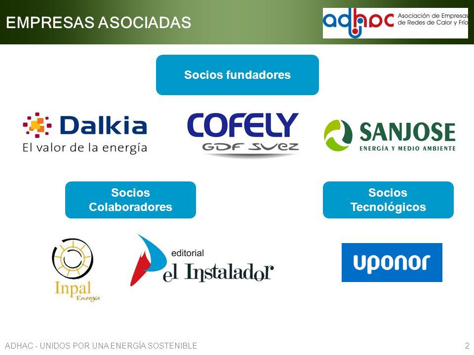 EMPRESAS ASOCIADAS Socios fundadores Socios Colaboradores