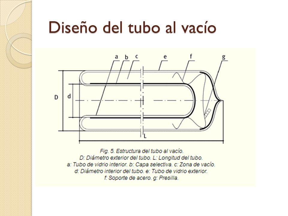 Diseño del tubo al vacío