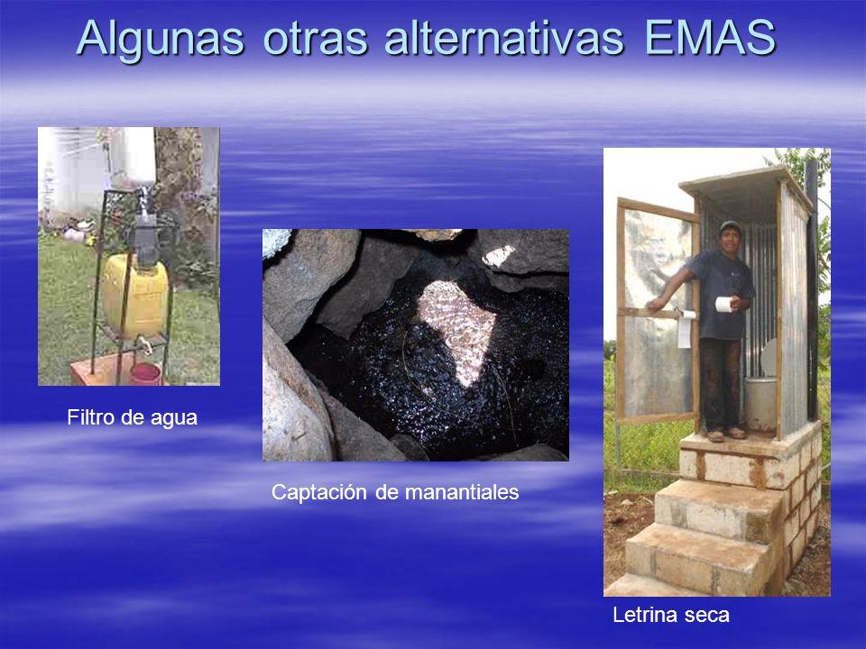 Algunas otras alternativas EMAS