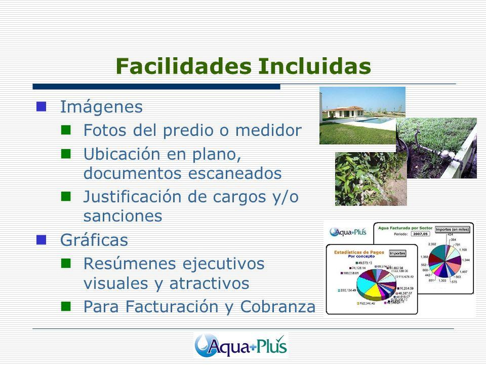 Facilidades Incluidas