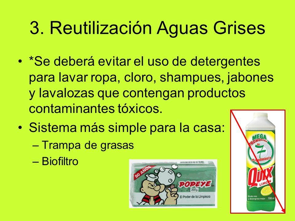 3. Reutilización Aguas Grises