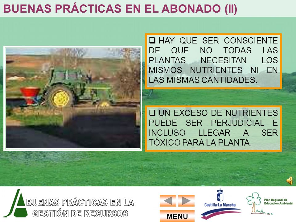 BUENAS PRÁCTICAS EN EL ABONADO (II)