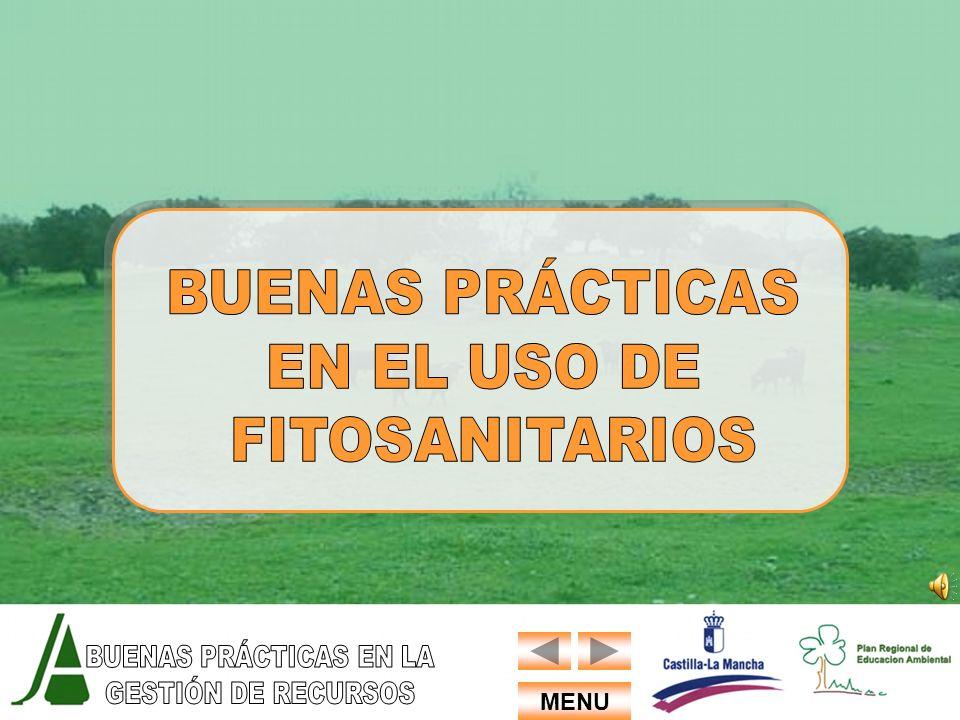 BUENAS PRÁCTICAS EN EL USO DE FITOSANITARIOS