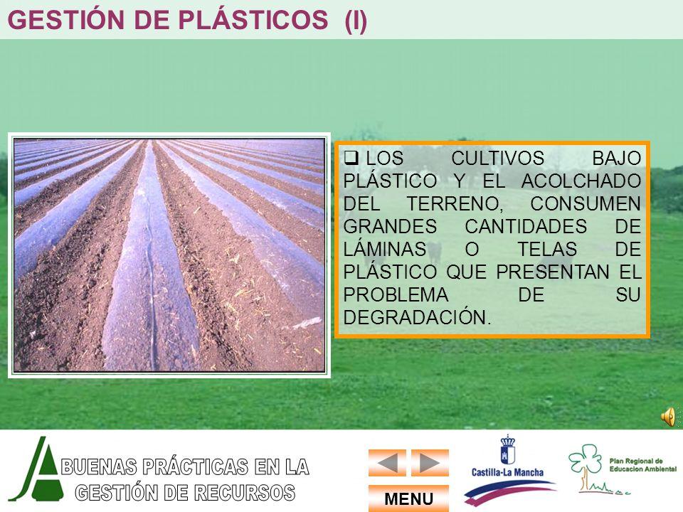 GESTIÓN DE PLÁSTICOS (I)