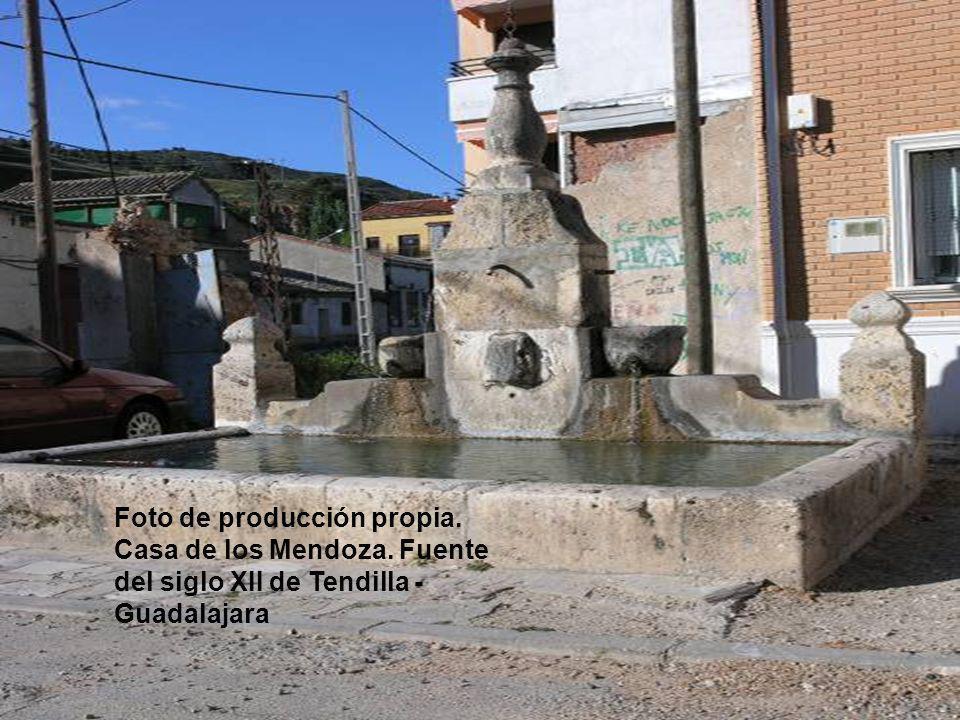 Foto de producción propia. Casa de los Mendoza