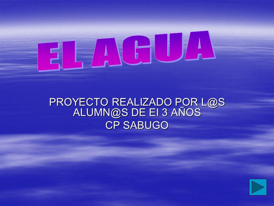 PROYECTO REALIZADO POR L@S ALUMN@S DE EI 3 AÑOS CP SABUGO