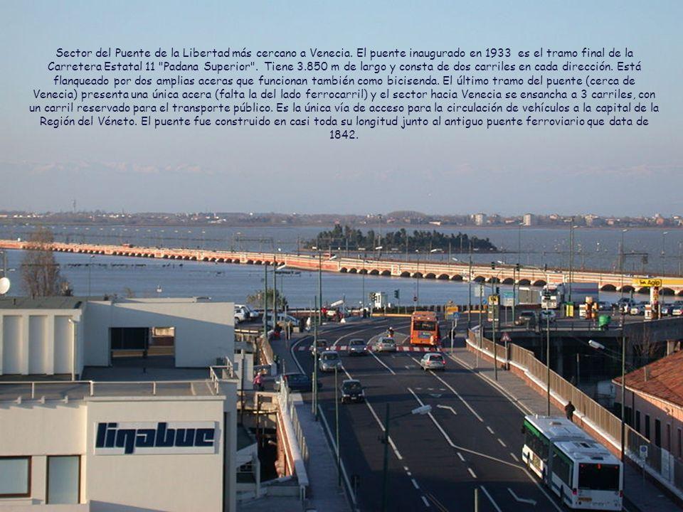 Sector del Puente de la Libertad más cercano a Venecia