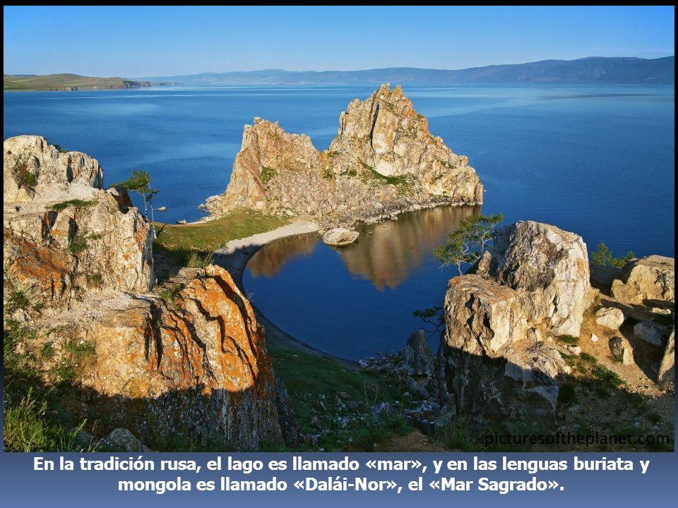 En la tradición rusa, el lago es llamado «mar», y en las lenguas buriata y mongola es llamado «Dalái-Nor», el «Mar Sagrado».