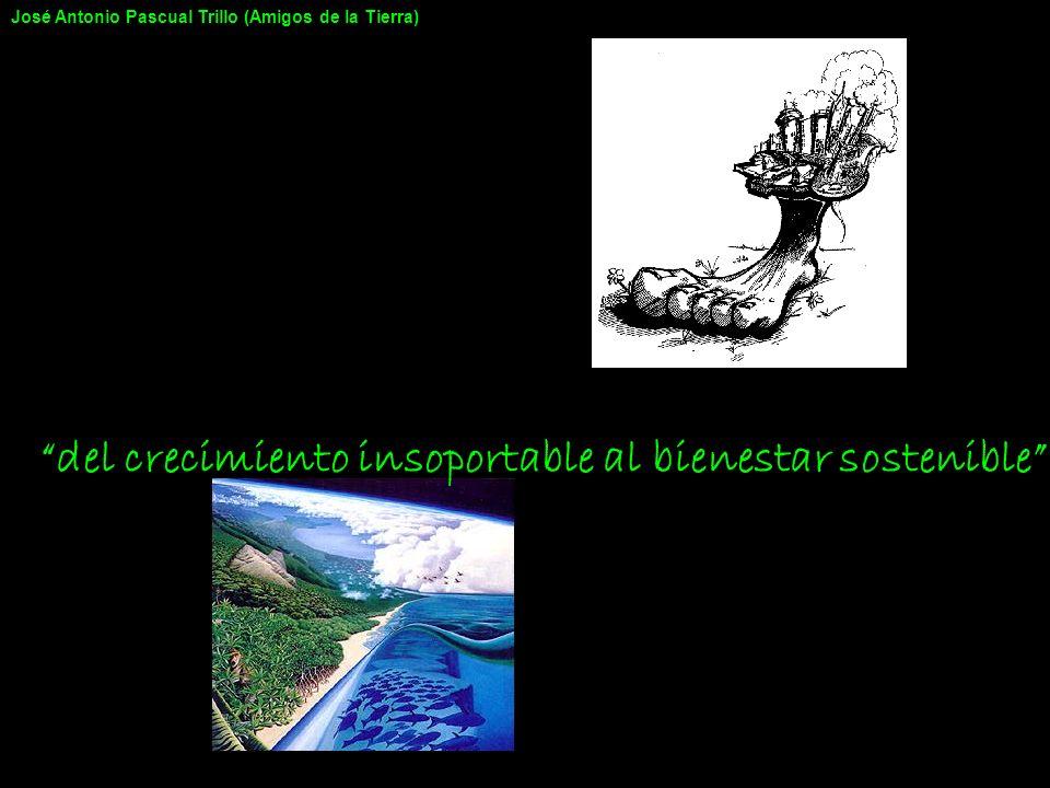 del crecimiento insoportable al bienestar sostenible