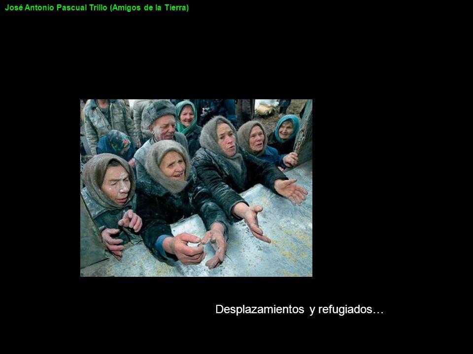 Desplazamientos y refugiados…
