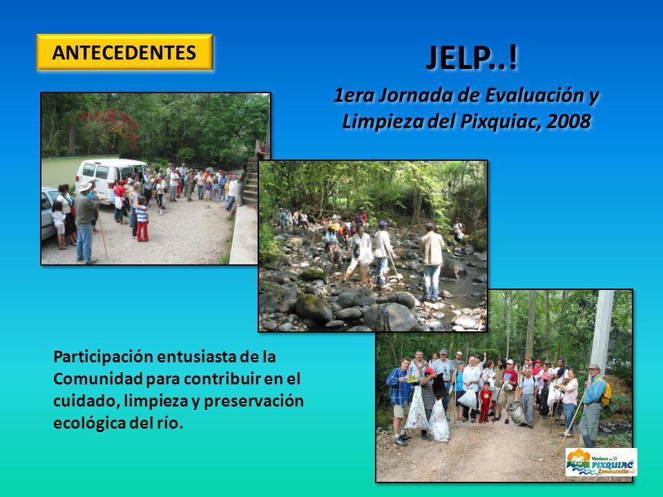 1era Jornada de Evaluación y Limpieza del Pixquiac, 2008