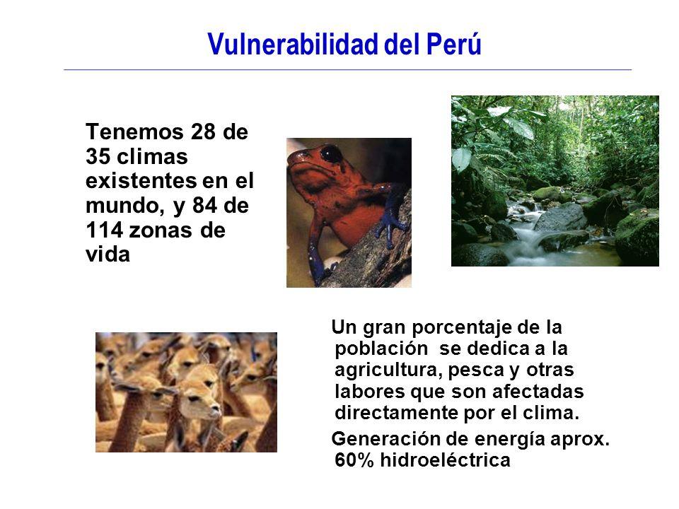 Vulnerabilidad del Perú