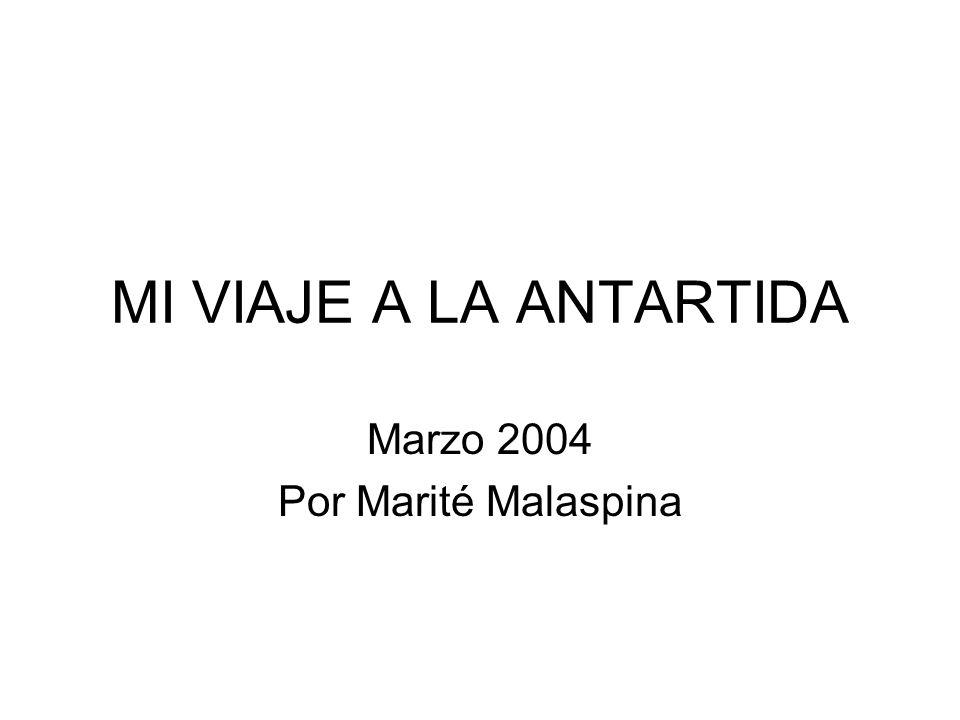 Marzo 2004 Por Marité Malaspina