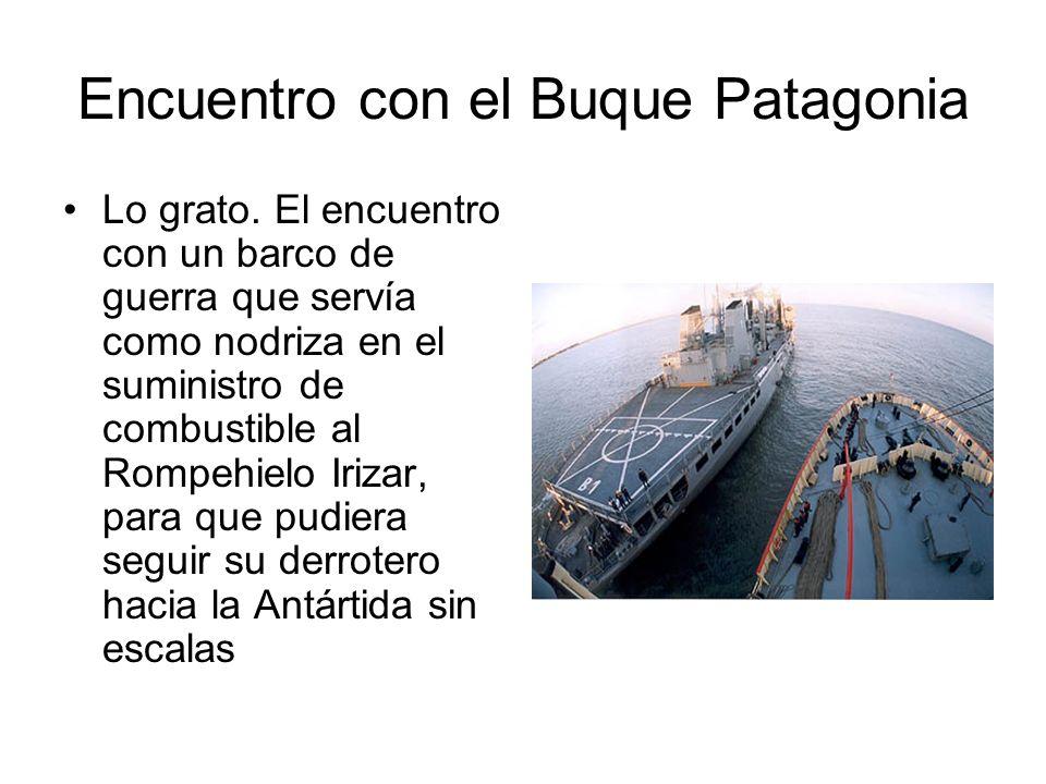 Encuentro con el Buque Patagonia