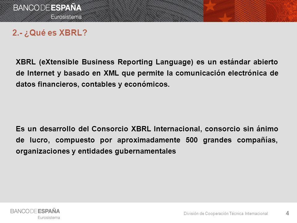 2.- ¿Qué es XBRL