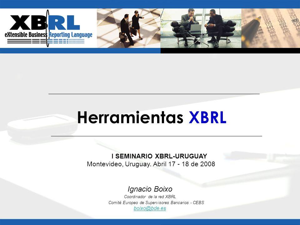 I SEMINARIO XBRL-URUGUAY