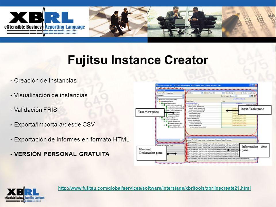 Fujitsu Instance Creator