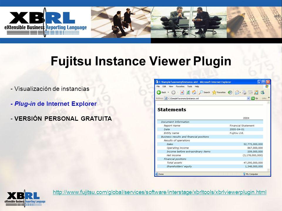 Fujitsu Instance Viewer Plugin