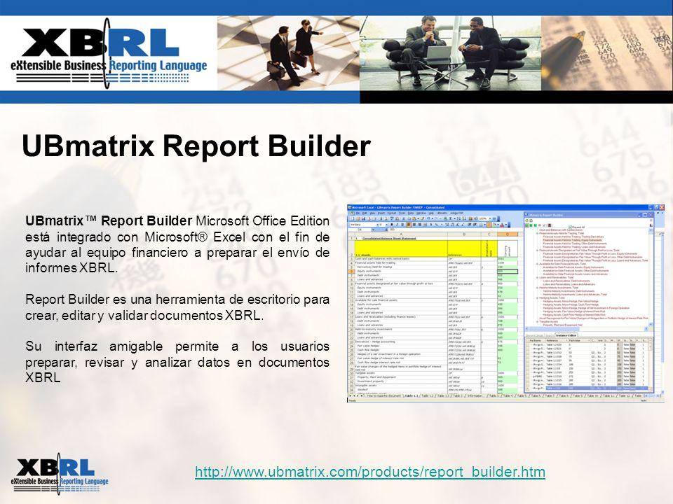 UBmatrix Report Builder