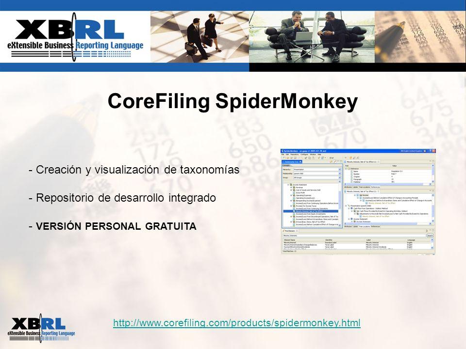 CoreFiling SpiderMonkey