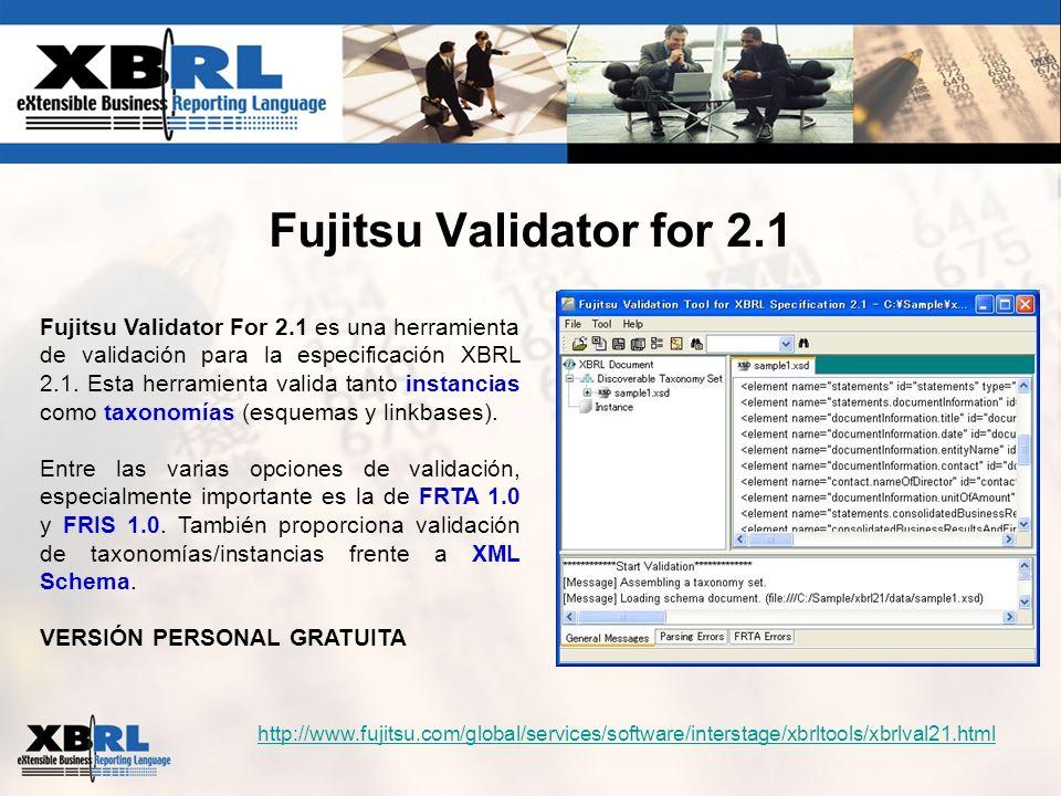 Fujitsu Validator for 2.1