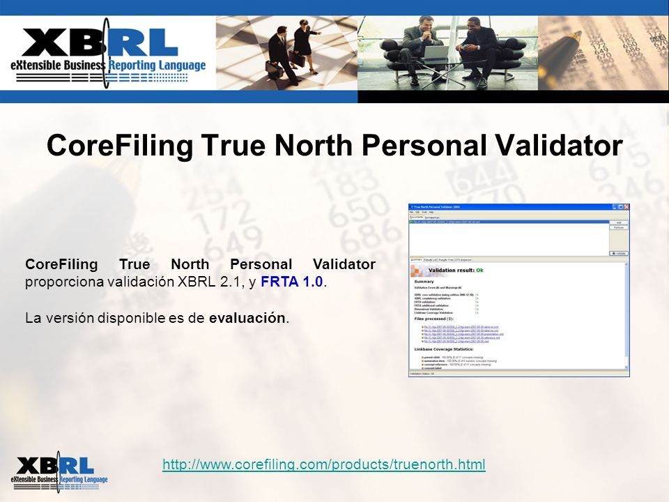 CoreFiling True North Personal Validator
