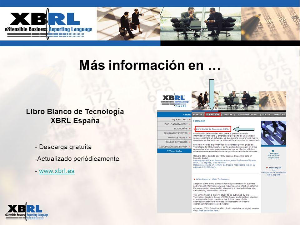 Libro Blanco de Tecnología XBRL España