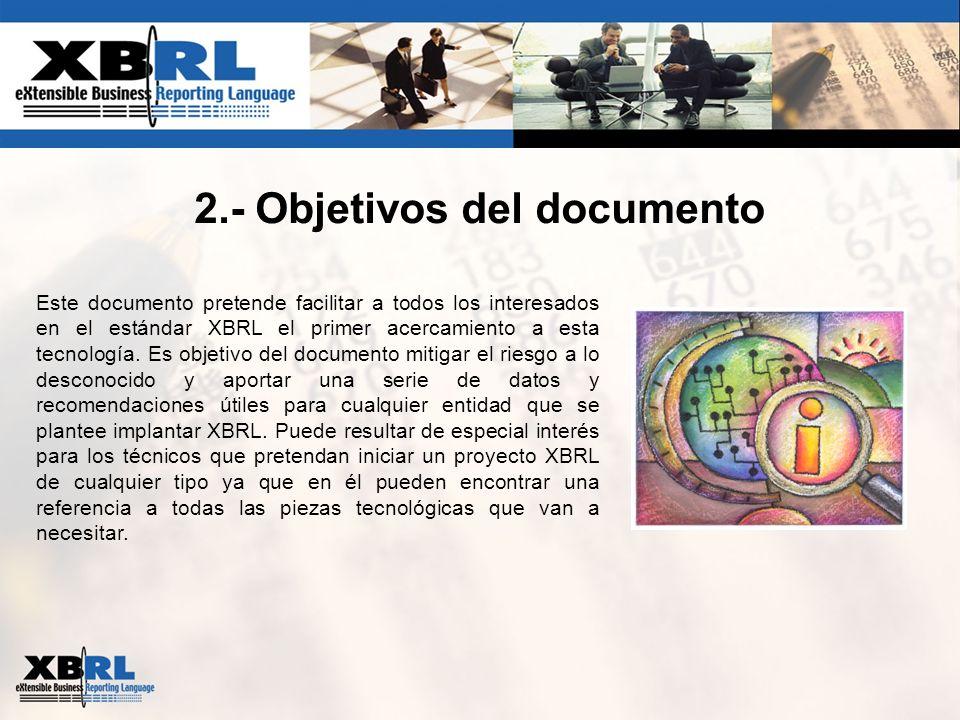 2.- Objetivos del documento