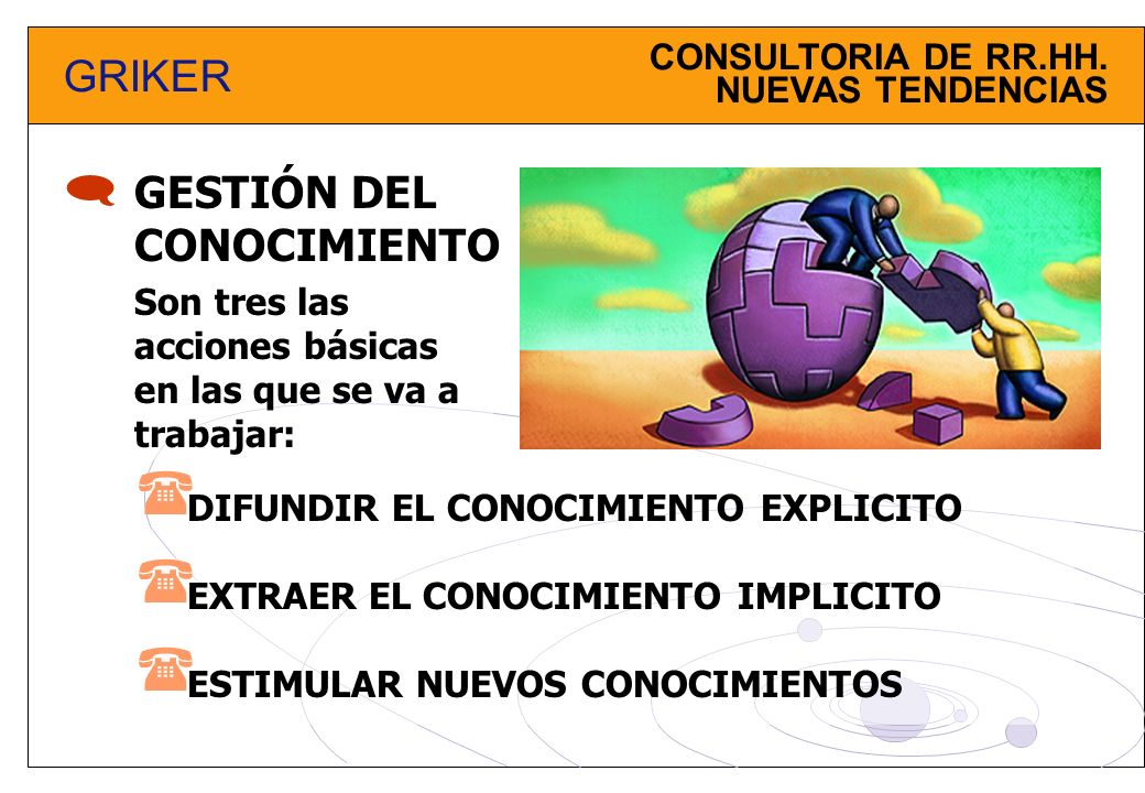     GRIKER GESTIÓN DEL CONOCIMIENTO CONSULTORIA DE RR.HH.