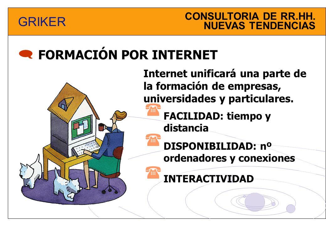     GRIKER FORMACIÓN POR INTERNET CONSULTORIA DE RR.HH.