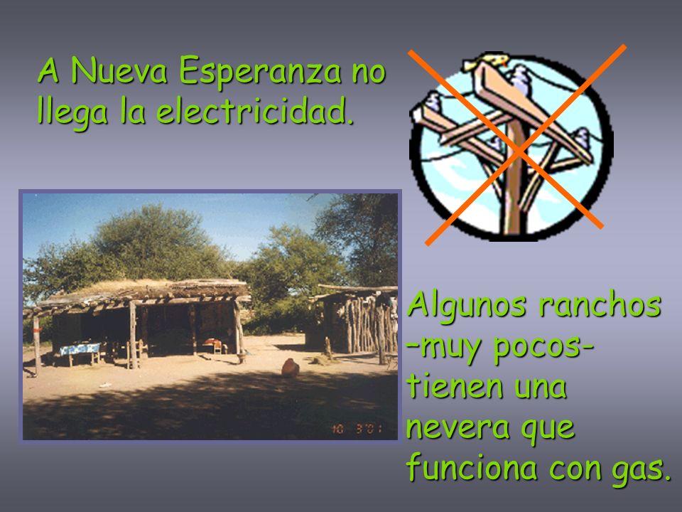 A Nueva Esperanza no llega la electricidad.