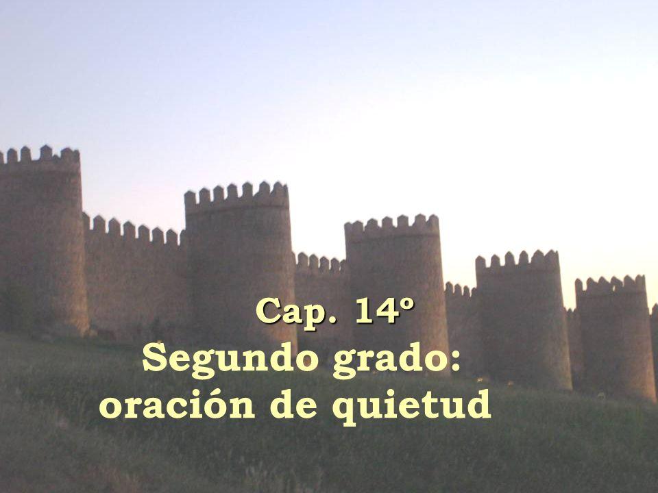 Cap. 14º Segundo grado: oración de quietud