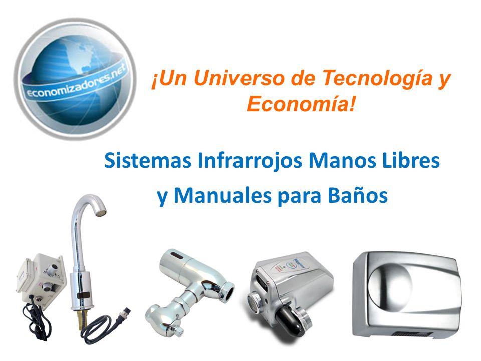 Sistemas Infrarrojos Manos Libres y Manuales para Baños