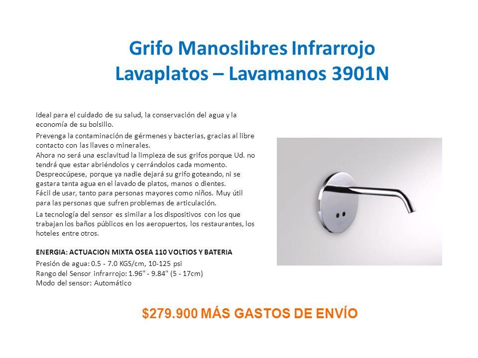 Grifo Manoslibres Infrarrojo Lavaplatos – Lavamanos 3901N