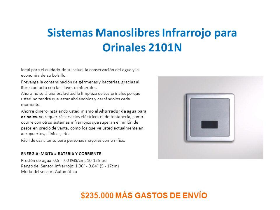 Sistemas Manoslibres Infrarrojo para Orinales 2101N