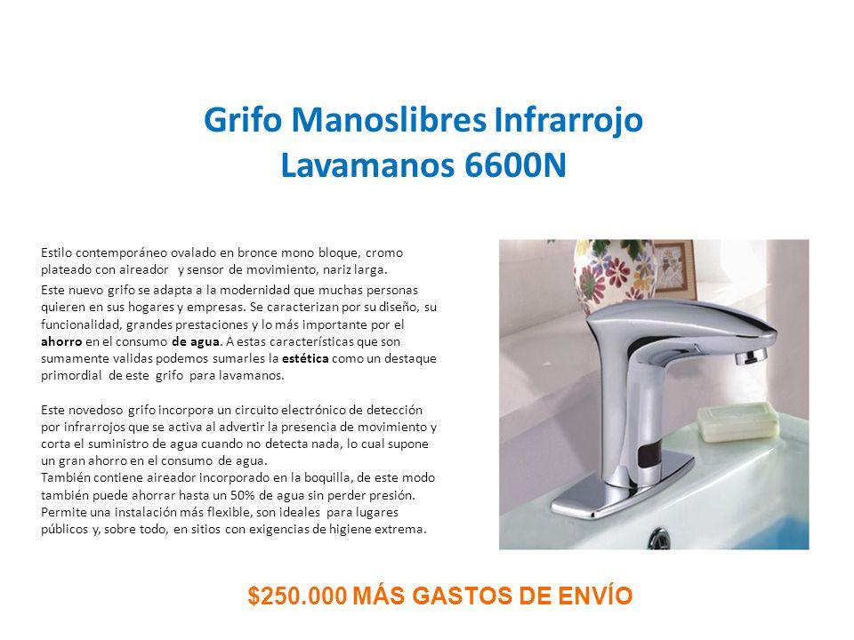 Sistemas infrarrojos manos libres y manuales para ba os - Lavamanos sin instalacion ...