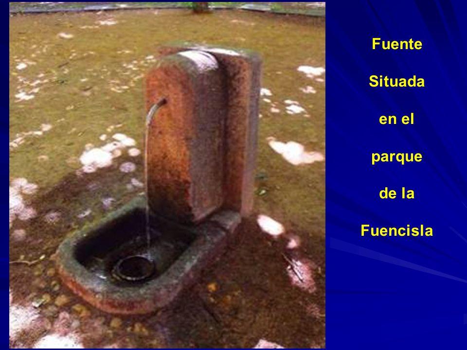 Fuente Situada en el parque de la Fuencisla