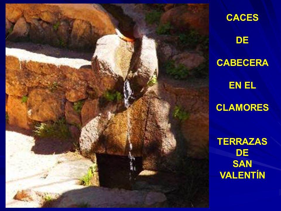 CACES DE CABECERA EN EL CLAMORES TERRAZAS SAN VALENTÍN