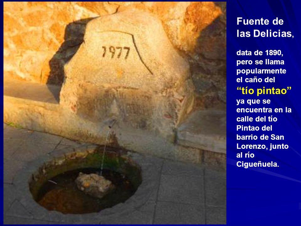 Fuente de las Delicias,