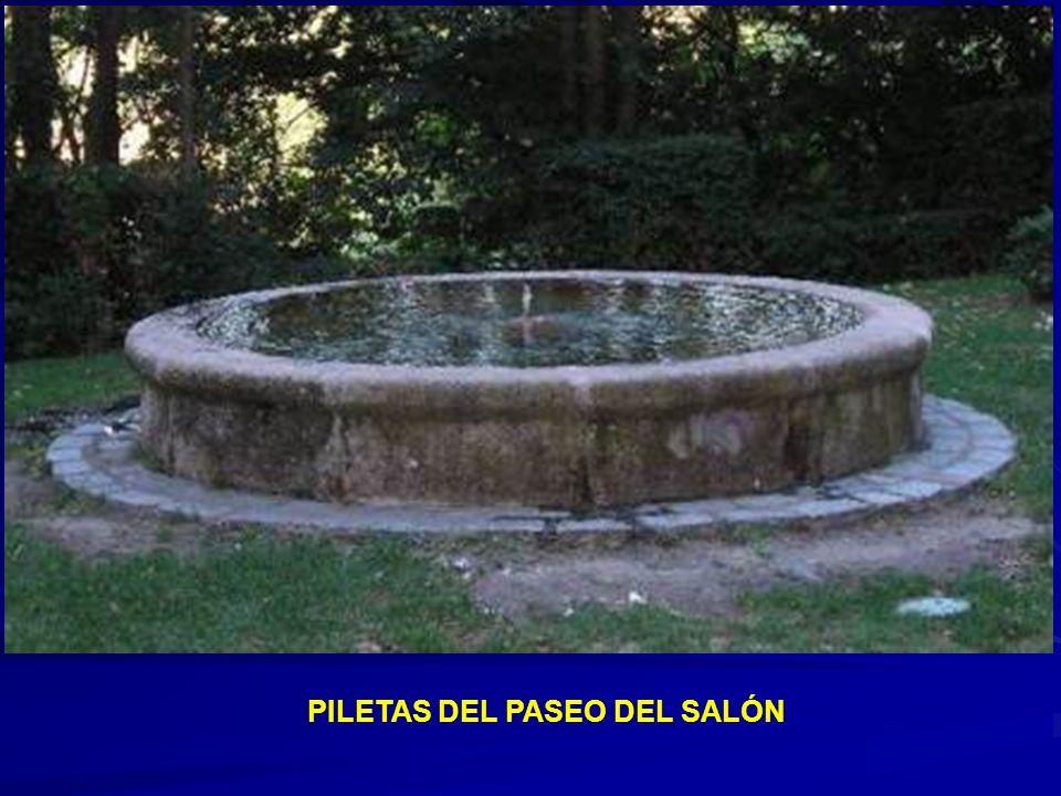 PILETAS DEL PASEO DEL SALÓN