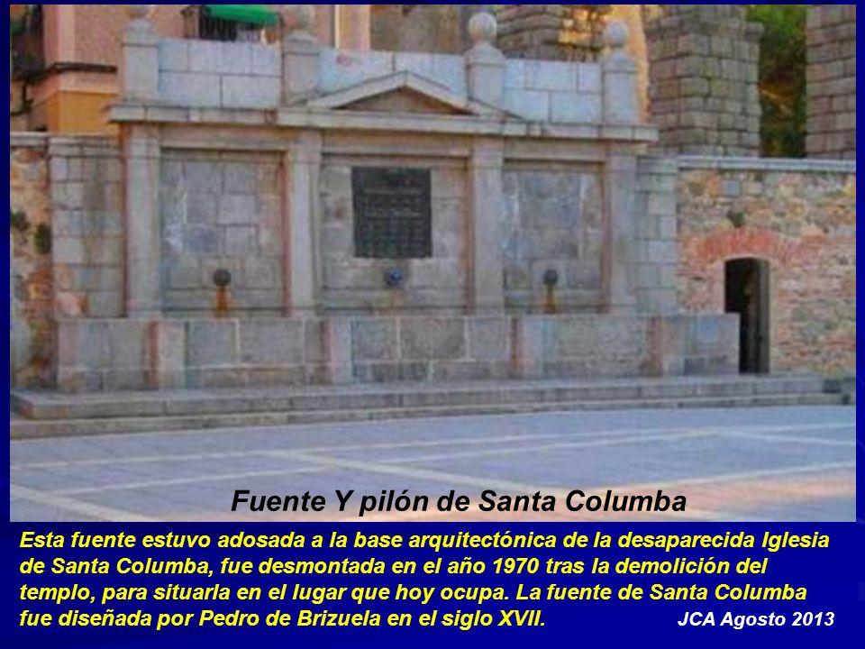 Fuente Y pilón de Santa Columba