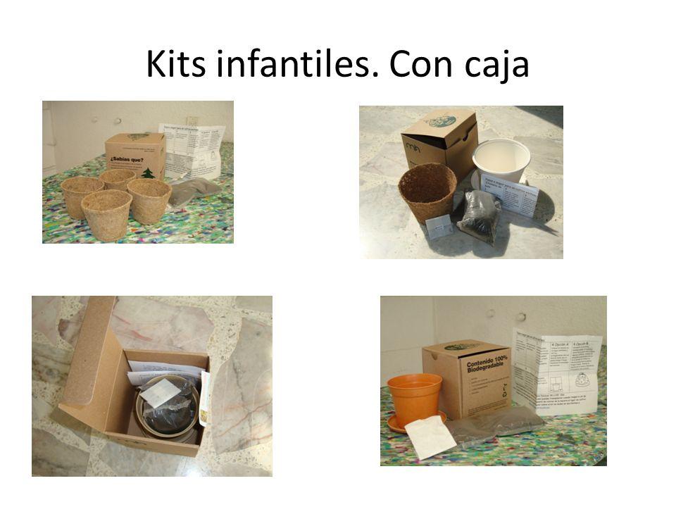 Kits infantiles. Con caja