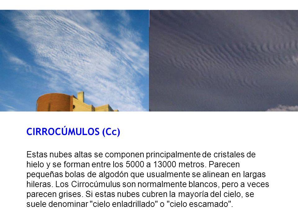 CIRROCÚMULOS (Cc)